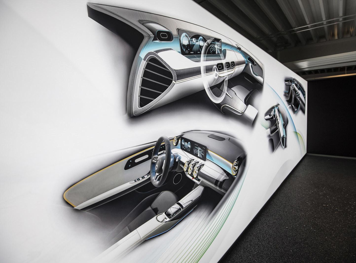 Foto de Mercedes-Benz Clase A 2018: impresiones del interior (24/28)