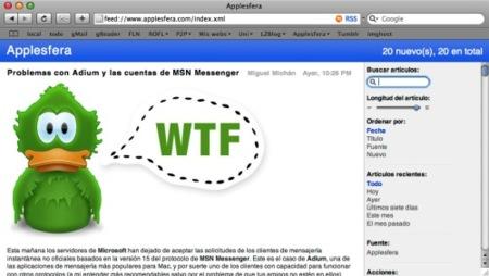 Descubierta una vulnerabilidad en los RSS de Safari