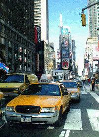 Los taxis de Nueva York circularán online