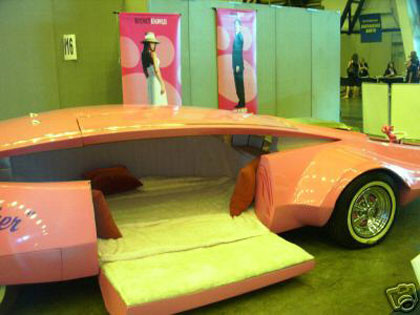 venden el pink panther show car en ebay. Black Bedroom Furniture Sets. Home Design Ideas