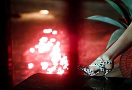 Sandalias HM Versace Crucero 2012