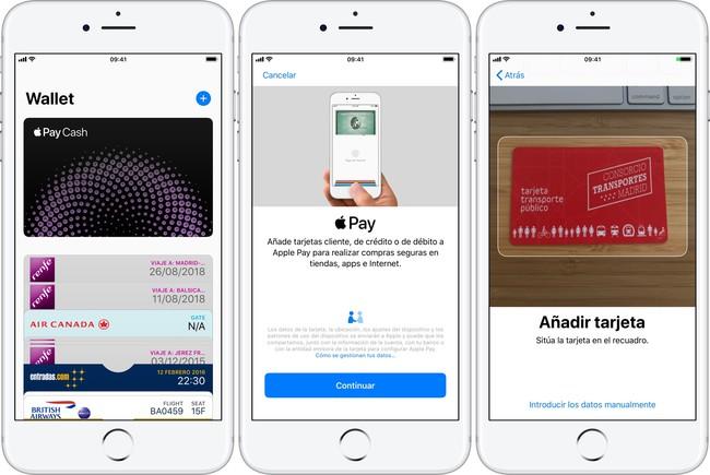 Anadir Tarjeta Apple™ Pay