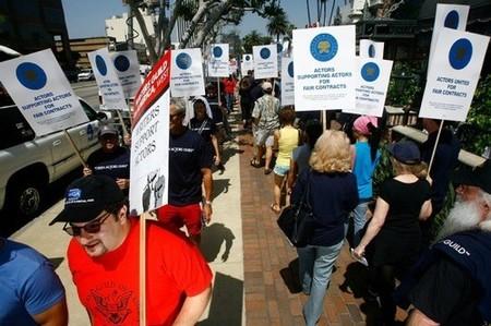 Los actores de Hollywood, cada vez más divididos ante la huelga
