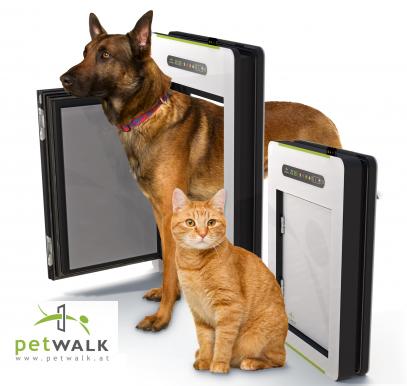 Petwalk, puertas programables para mascotas