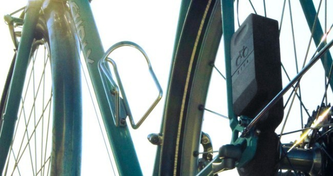 Siva en bicicleta