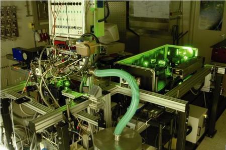 Motor de hidrógeno BMW con sensores laser