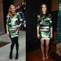 Vestido de Emilio Pucci: ¿Kate Hudson o Hilary Rhoda?
