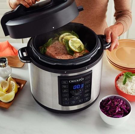 Oferta de Amazon para nuestra cocina: la olla de cocción lenta Crock-Pot  Multicooker Express está rebajada a 84,99 euros