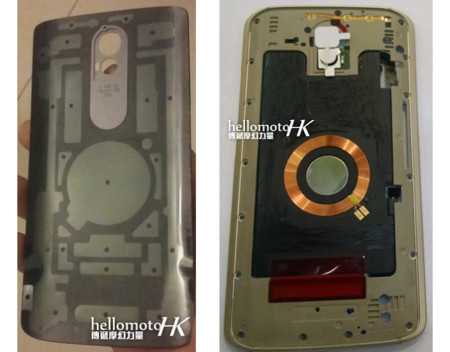 Motorola Droid 2015 Tapa Interna