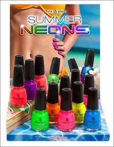 China Glaze y su Summer Neons, ¡más colores neón para nuestras uñas!