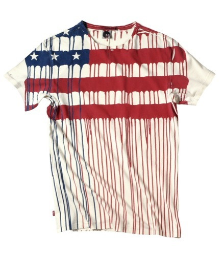 Levis, Engineered Jeans camiseta bandera