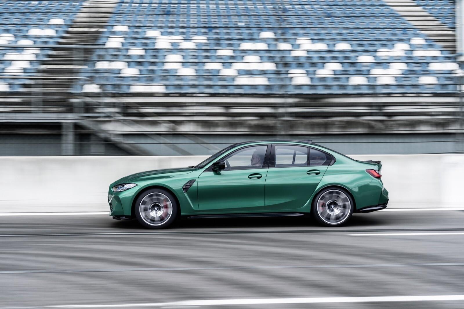 Foto de BMW M3 Competition 2021 (10/40)