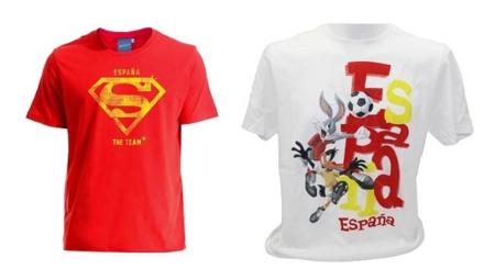 Camisetas para el Mundial de Fútbol de Brasil con los logos de tus superhéroes favoritos