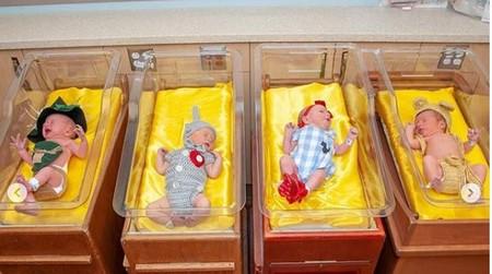 """Un hospital celebra el aniversario de """"El mago de Oz"""" disfrazando a los bebés de sus personajes, ¡y se ven así de lindos!"""