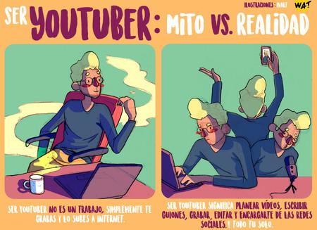 Ser youtuber no es un trabajo, son varios