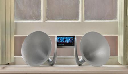 Gramohorn II, los altavoces por si tienes un HTC One y andas sobrado de dólares