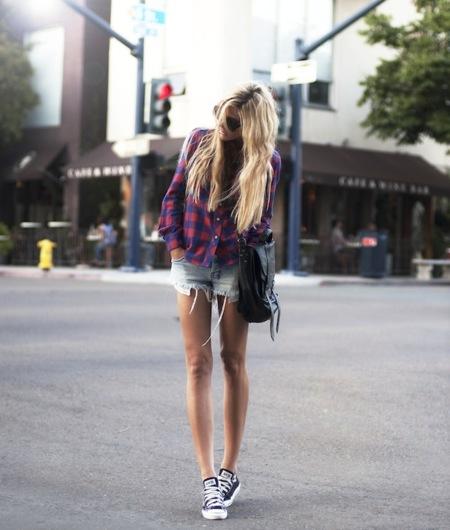 shorts vaqueros casual