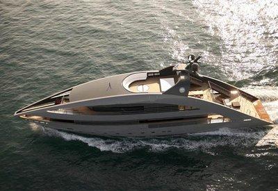 YachtPlus, impresionante yate de lujo diseñado por Foster+Partners