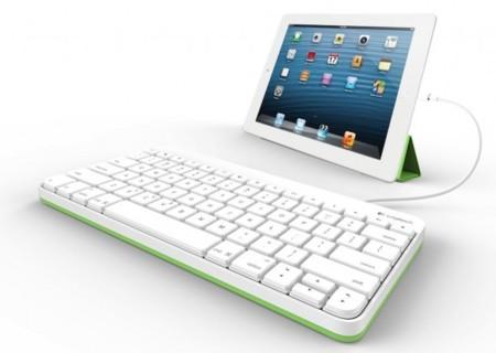 Logitech lanza un teclado con cable para el iPad