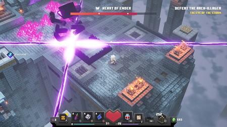 Minecraft Dungeons Corazon Ender