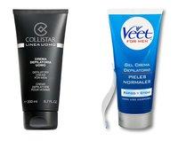 Depilación en crema: si tienes el vello fuerte, utiliza crema depilatoria para hombres