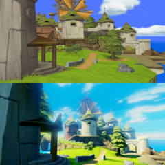 Foto 2 de 5 de la galería the-legend-of-zelda-wind-waker-hd-comparativa en Vidaextra