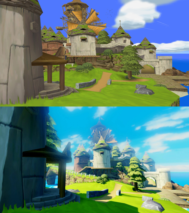 Foto de The Legend of Zelda: Wind Waker HD comparativa (2/5)