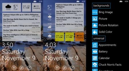 Lockmix, personaliza la pantalla de bloqueo de Windows Phone a tu gusto