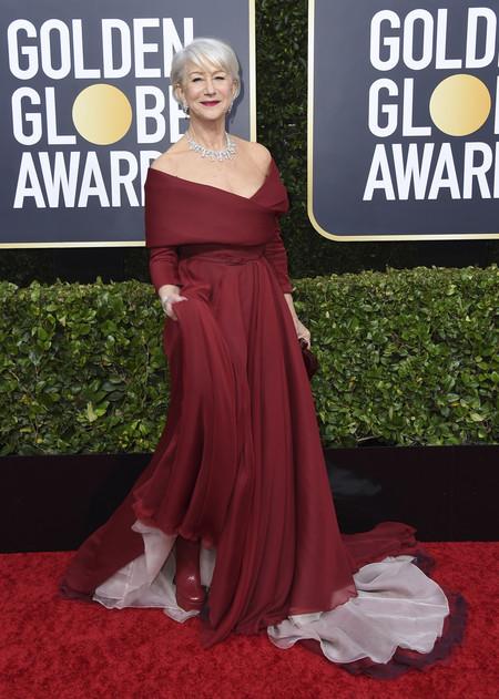 Helen Mirren globos de oro 2020