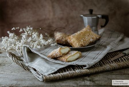 Teresitas asturianas de crema: pastel de sartén para disfrutar un carnaval muy dulce