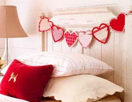 Cómo decorar el dormitorio para San Valentín: cinco ideas