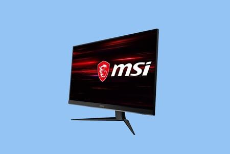 Este excelente monitor gaming con 144 Hz de MSI cuesta ahora menos de 200 euros y alcanza su precio mínimo