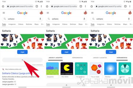 Google Juegos Herramientas