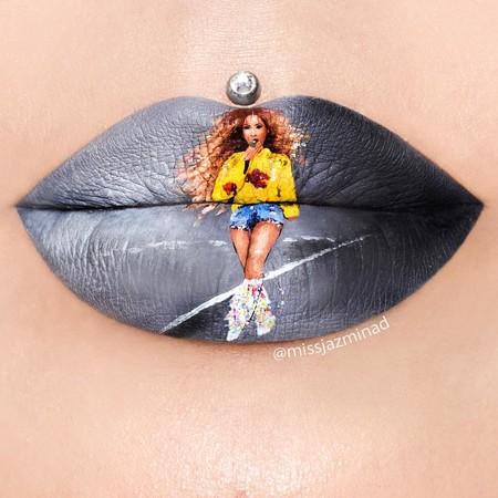 """Esta Instagrammer lo peta con sus labios de Beyoncé y sus otras """"obras de arte"""""""