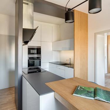 Puertas abiertas: un apartamento de 36 metros cuadrados en Praga, funcional para la vida urbana