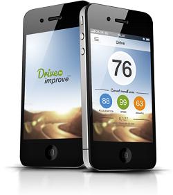 Drive to improve, una aplicación para iPhone y Android que evalúa nuestro estilo de conducción