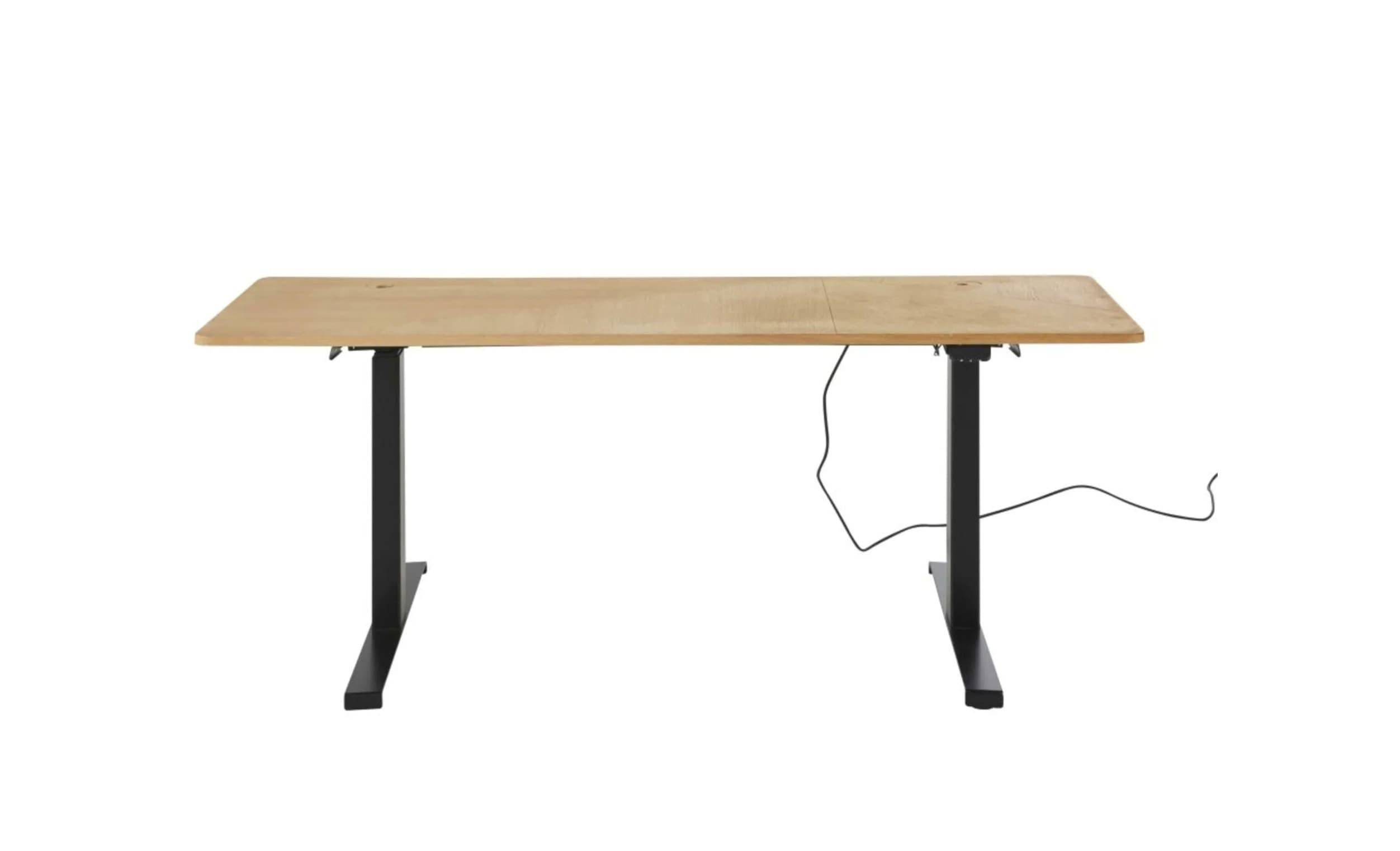 Escritorio eléctrico profesional con altura regulable (62-126 cm) para utilizar con silla o de pie