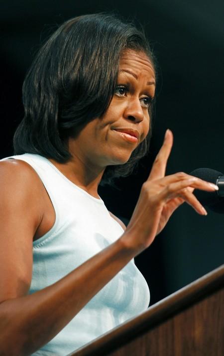 michelle obama precio discurso