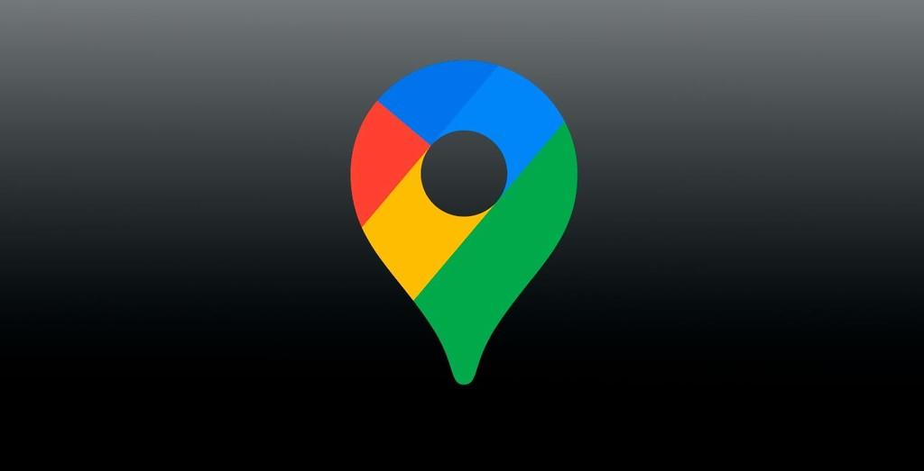 Así es el manera oscuro completo de Google™ Maps, la aplicación se prepara para activarlo