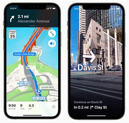 Apple Mapas Nueva Interfaz