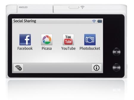 Samsung MV900F compartir fotos