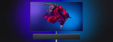 Philips presenta la smart TV OLED984, su nuevo buque insignia con 65 pulgadas y barra de sonido de Bowers & Wilkins