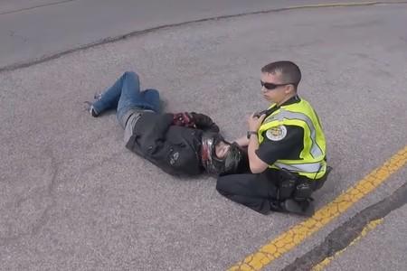 Accidente Stuntrider 1