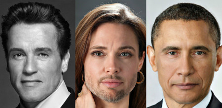 Este genio del Photoshop está fusionando caras de famosos, y los mindfuck están asegurados