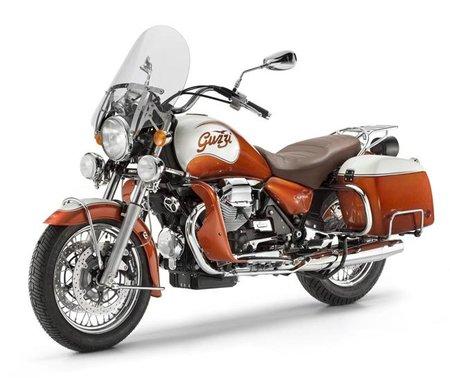 Moto Guzzi California 90 aniversario, custom a la italiana