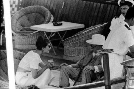 Maria Callas con Winston