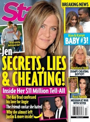 Jennifer Aniston escribe sus memorias