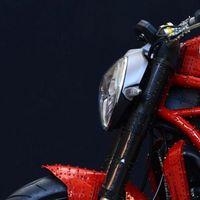 Meccano crea una Ducati Monster 1200 a escala 1:1, un juguete con el que no podrás jugar