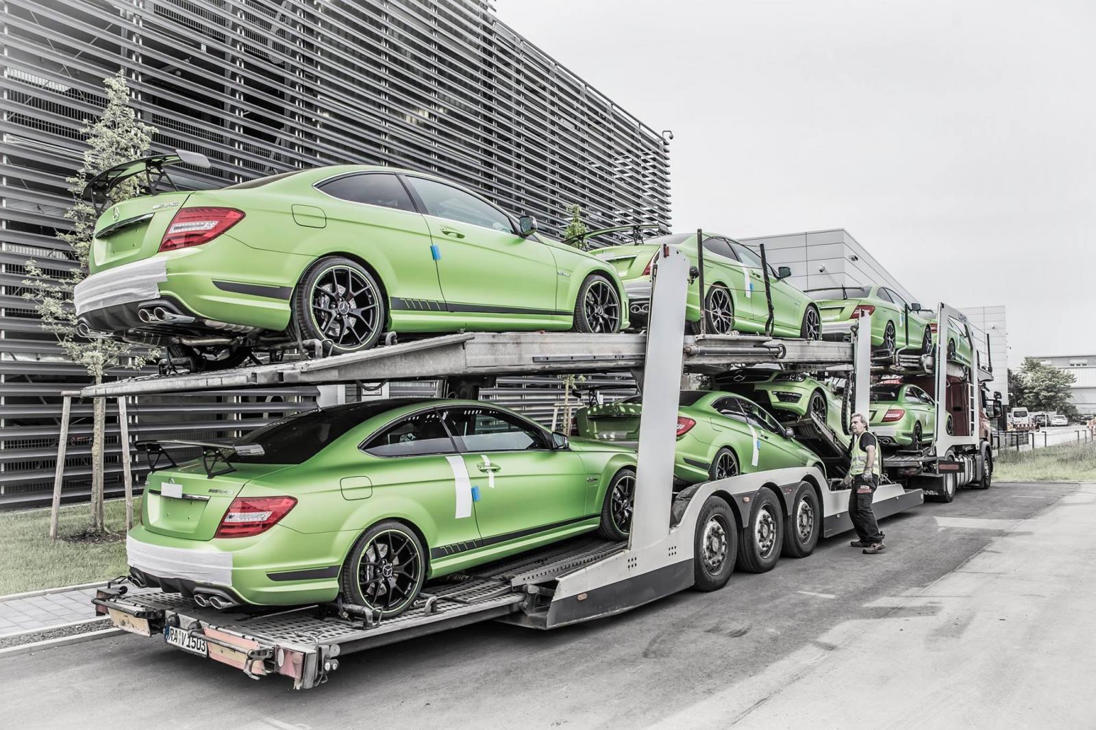 Foto de Mercedes C63 AMG Coupe Legacy Edition (23/26)
