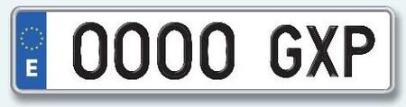 Estas son las multas por no llevar la matrícula del coche en buen estado